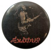 Bob Marley - 'Exodus' Button Badge